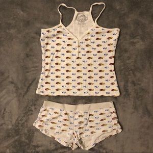 Intimates & Sleepwear - Kansas KU Jayhawks Pajama Set